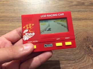 LCD Racing Car